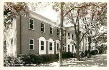 Georgia, GA, LaGrange, Pitts Bld, LaGrange College Real Photo Postcard