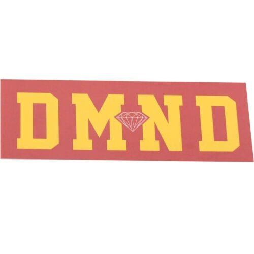 pink // yellow DMNDSUPSPYL-1S $3.00 Diamond Supply Co DMND Super Sticker