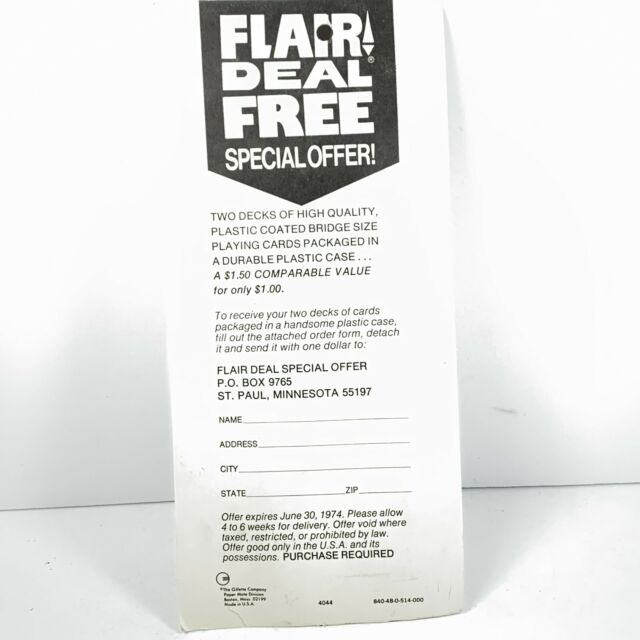 80s Vintage Paper Mate Flair Red Felt Tip Pen With Point Guard Carded NOS for sale online