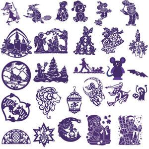 Halloween-Metal-Cutting-Dies-Stencil-Scrapbook-Card-Decor-Embossing-DIY-Crafts