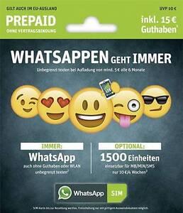 WhatsApp-Sim-e-plus-o2-Prepaidkarte-UVP-10-Guthaben-im-Wert-von-15-1500-MB