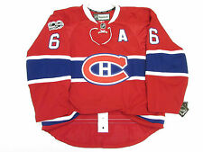 WEBER MONTREAL CANADIENS HOME NHL 100th ANNIVERSARY REEBOK EDGE 2.0 7287 JERSEY