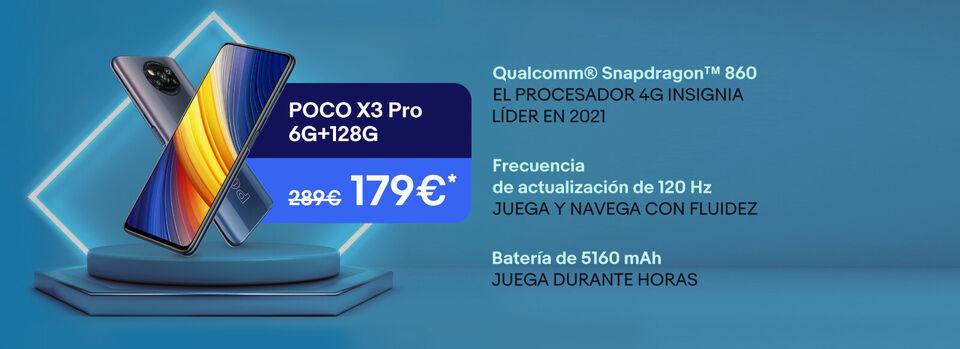Añadir a la cesta - Ahorra más de 100€ en el POCO X3 PRO