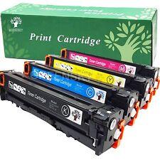 Set of 4 PK CE320A 128A Laser Toner For HP Color LaserJet Pro CM1415FNW CP1525NW