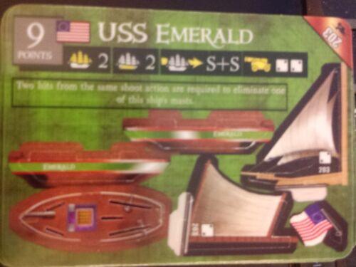 Pirates of the South China Seas #203 USS Emerald Pocketmodel Mint