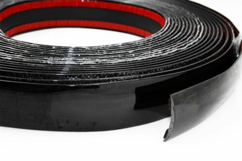 Zierleiste 25 mm x 4m Schwarz ZIERLEISTE LEISTE SELBSTKLEBEND FLEXIBEL AUTO PKW