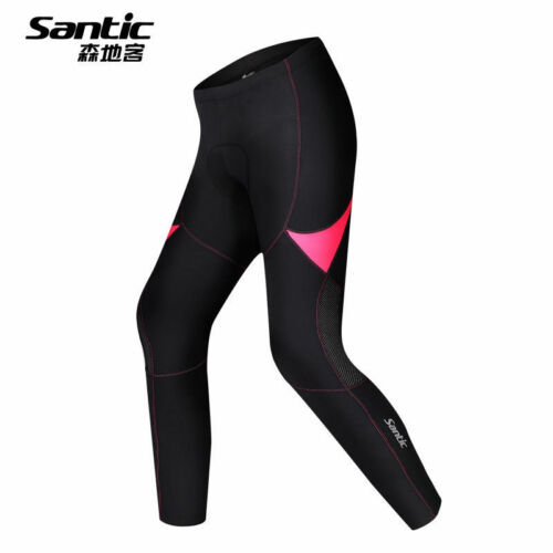 SANTIC Women Cycling Pants Fleece Thermal Sports Breathable Padded Tights---Rola