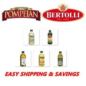 POMPEIAN & Bertolli OLIVE OIL Cooking Salad Dressing Pick one EASY SHIPPING