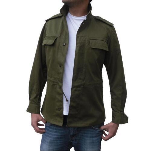 New Mens Military Field Army Combat Jacket BDU Coat Vintage Surplus S M L XL XXL