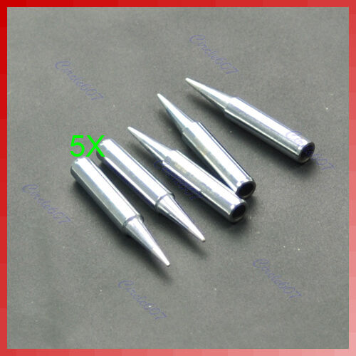 5pcs Replace Replaceable 900M-T-B 936 Pencil Soldering Solder Iron Tip New