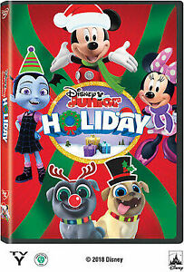 PB-CHILDREN-FAMILY-DISNEY-JR-HOLIDAY-DVD-UK-IMPORT-CD-NEW
