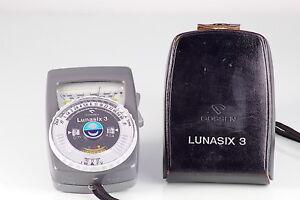 Foto & Camcorder Photometer Gossen Lunasix 3 Light Meter Cds Ausgezeichnet Gemacht In Germany Belichtungsmesser