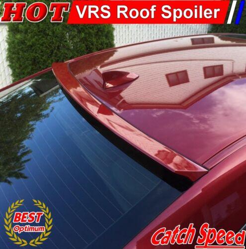 Details about  /Flat Black 229 VRS Rear Roof Spoiler Wing For 2008~12 SAAB 9-3 II Turbo X Sedan