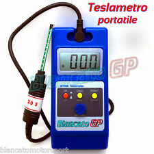 MAGNETOMETRO TESLAMETRO PORTATILE 0-200mT e 0-2000mT tester campo gaussmetro