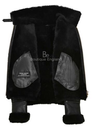 de F real oveja Flying Shearling Señoras B3 chaqueta Raf Aviator de piel 05 100 Style 0nOEAaXq