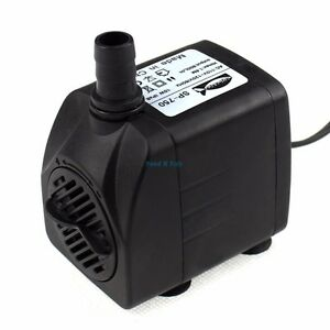 210 GPH Submersible Aquarium Water Pump Fish Tank Powerhead Fountain Hydroponic