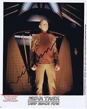 René Auberjonois  American Actor   MASH and Star Trek   HAND SIGNED Colour Photo