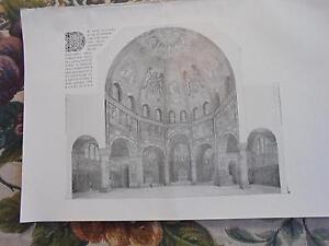 Le Prix Le Moins Cher 1909... Bauzeitung 52n/berlin Spandau église Catholique-afficher Le Titre D'origine
