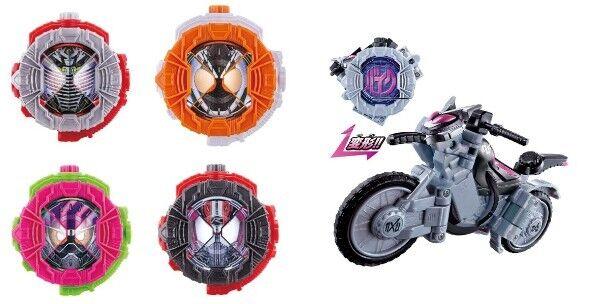 Kamen Rider Zi-O DX Drive & Ryuki & Ex-AID & Fourze & Ride striker watch 5 sets