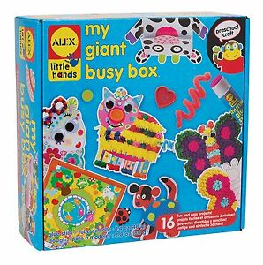 ALEX Toys 530X Little Hands My Giant Busy Box Preschool Kids Arts & Craft Kit