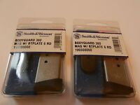 New; (2) Smith & Wesson Bodyguard Magazines; 199300000; Holds 6 Rounds 380