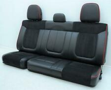 2009 2010 2011 2012 2013 2014 Ford F150 Fx2 Super Cab Rear Black Leather Seats Fits Ford F 150