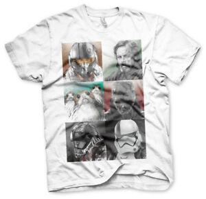 Mens Star Wars The Last Jedi Rey Icon TShirt Licensed