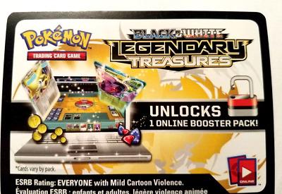Pokemon Card Game *FAKE* Black And White Legendary Treasures Booster Pack *FAKE*