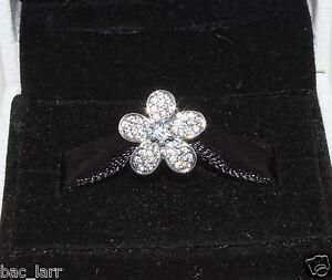 """Authentic Pandora""""dazzling Daisy Charm 791480cz, #843 Doux Et AntidéRapant"""