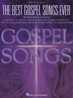 The Best Gospel Songs Ever Sheet Music Piano Vocal Guitar Songbook 000310503