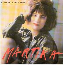 "<1389> 7"" Single: Martika - I Feel The Earth Move / Quiro Entregarte Mi Amor ..."