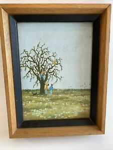 Vintage DUANE ARMSTRONG 1972 Oil Painting