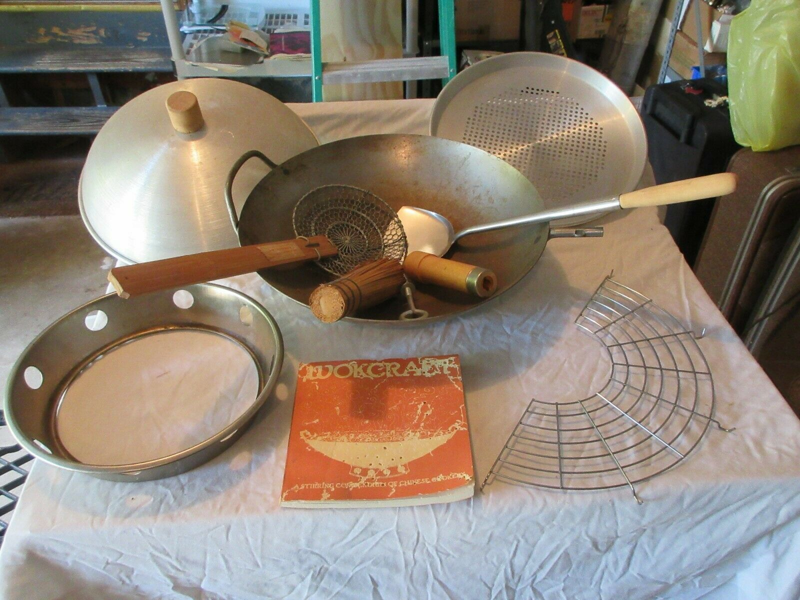 Wok Craft Set , Traditional Wok Cooking Set for the Hom