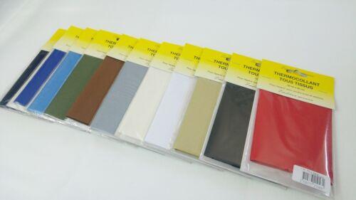 PIÈCE DE RÉPARATION tous tissus couleurs au choix 1 PERCALE THERMOCOLLANT