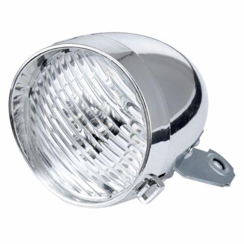 3 LED Bicycle Headlight Lamp Bike Front Light Retro Headlamp Vintage Flashlight