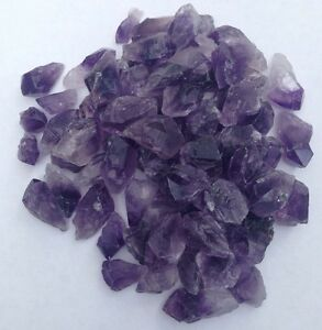 5-x-Rough-Purple-Amethyst-Pieces-Small-with-FREE-BAG-Crystal-Rock-Points