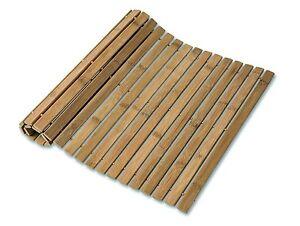 Détails sur Bambou pliable canard planche en bois de bambou bois salle de  bain toilette tapis antidérapant 60x40CM- afficher le titre d\'origine
