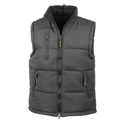 Result Ultra Padded Bodywarmer Jacket Unisex Gilet Sleeveless Puffer Coat R88X
