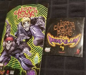 Insane Clown Posse - The Pendulum 9 Comic Book & CD axe murder boyz boondox icp