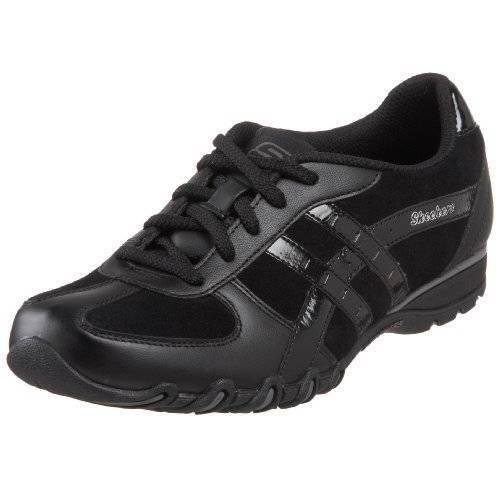 SKECHERS MS SIZE COMER 7 TRUE BLACK SPEEDSTERS UP AND COMER SIZE SNEAKER Schuhe f8b85f