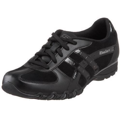 Skechers Ms Talla Talla Talla 7 Negro Real táctico y comer Zapatillas Zapatos  perfecto