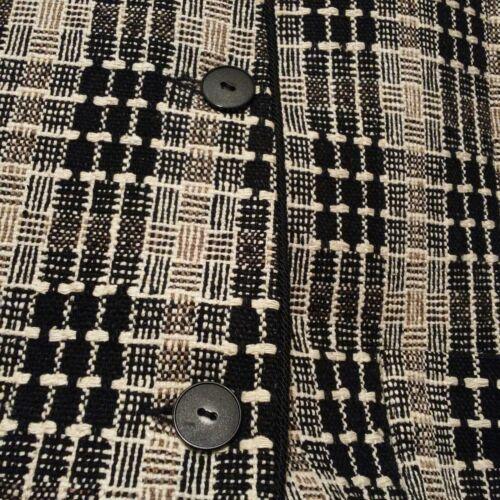 vintage in vintage 100 Blazer plaid seta in 1BF6xqwC
