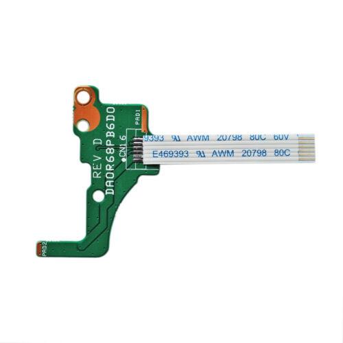 NEW Power Switch Button Board HP Pavilion 17-E017DX 17-E019DX 17-E020DX 17-E020U