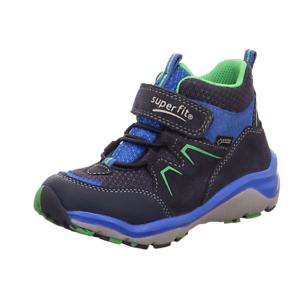 Details zu Superfit Gore Tex Jungen Schuhe blau grün Größe 33 SPORT5 lose Einlage