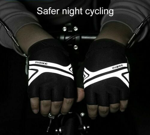 Cycling Gloves Bike Anti Slip Half Finger Breathable Outdoor Sports Men Women