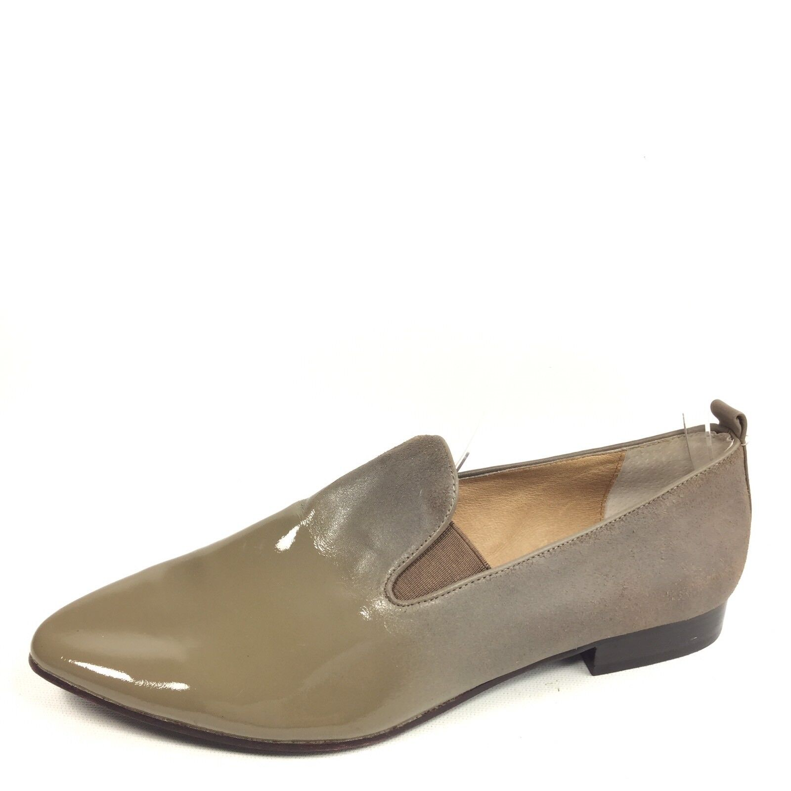Modern Vintage Helena Womens Size 39.5 M Green Leather Slip On shoes