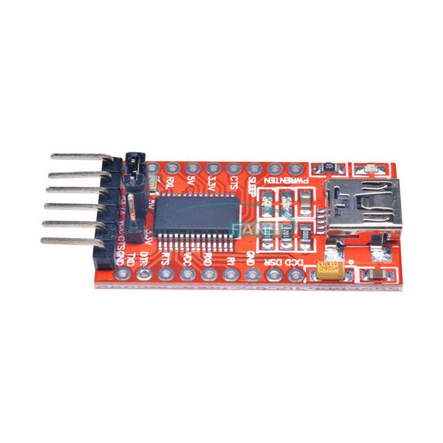 TTL 3.3V 5.5V FT232RL FTDI Module Mini Port USB  for Arduino Serials Adapter MF