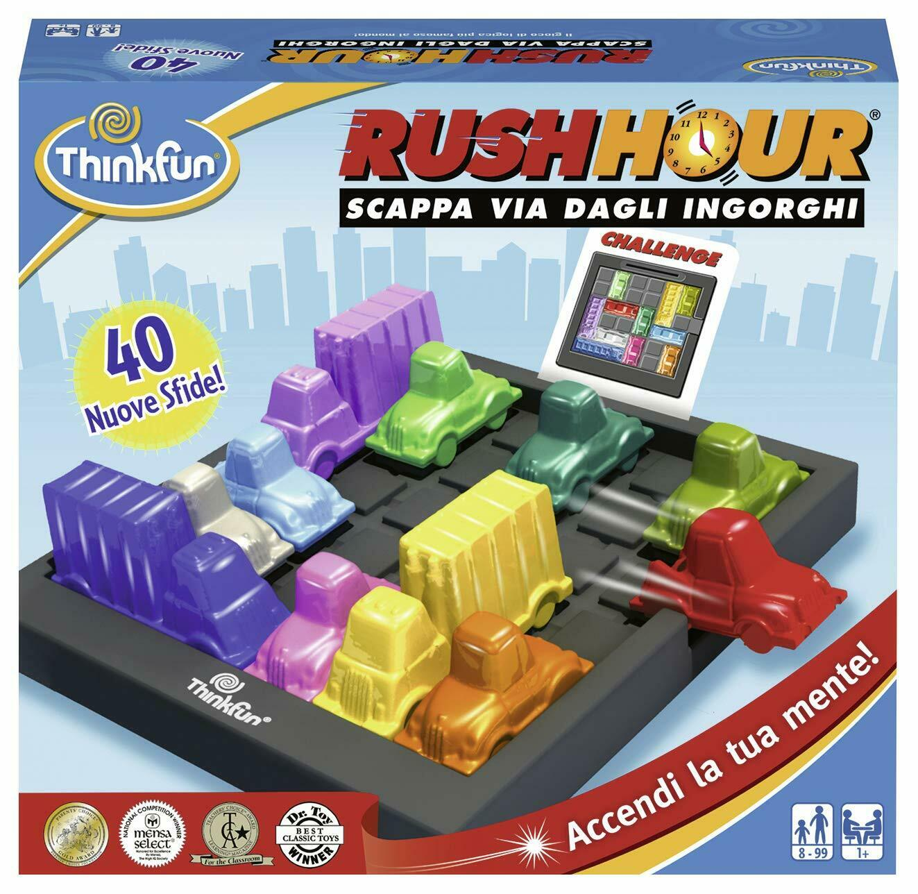 Think Fun - Rush Hour Gioco di Logica, MultiColor, 76300 [Versione Italiana]