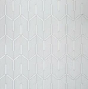 Off-white-cream-pearl-metallic-faux-carbon-textured-Wallpaper-Geometric-lines-3D