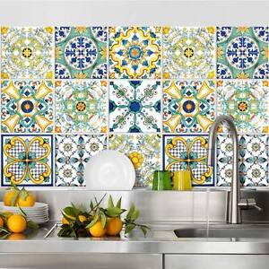 Ps00078 adesivi murali in pvc per piastrelle per bagno e for Piastrelle in pvc adesive per cucina